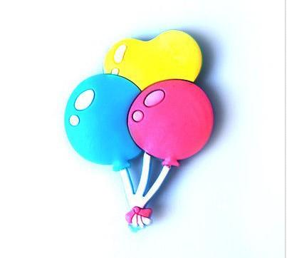 2014 moda mini balão da forma imã , ímã bonito dos desenhos animados adesivos barato(China (Mainland))