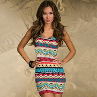 2014 spring and summer fashion woman  Brilliant cut package hip fashion dress  Sexy girl dresses