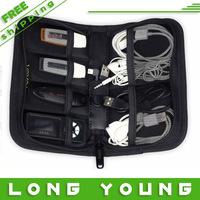 Digital accessories storage bag usb flash drive case  line card holder data cable bag storage box bag,free shipping