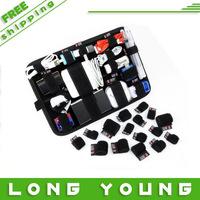 2014 new magic storage plate digital travel storage bag usb flash drive bag data cable bag liner bag,free shipping