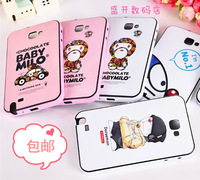 For samsung   i9220 phone case i9228 n7000 protective case mobile phone case cartoon phone case