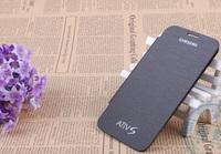 Original Flip Cover For Samsung Ativ S Samsung i8750 Case Senior PU Leather+Microfiber,+Screen Protector,Free Shipping