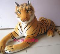 stuffed big animal plush toys tiger toy stuffed tiger doll big tiger pillow birthday gift 85cm