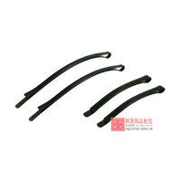 Black word folder / hair clips / side folder / top folder / disk hair bangs clip hair accessories Tools