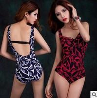 Big Woman Sexy Monokini One Piece Swimwear Swimsuit Bathing Suits Woman Beach Swimwear Plus Size 2xl-6XL XX-046