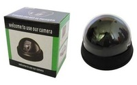 Free shipping Simulated Indoor and Outdoor Camera with Blinking Red LED !50pcs/lot !T41