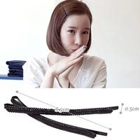 2014 new black pine stone Rhinestone hair clips word folder bangs clip female fashion accessories hair accessories