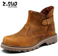 2014 Hot-selling New arrivaling Zsuo 327 Male Desert Combat Martin Boots Tooling Boots Genuine leather Wholesale