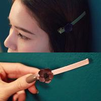 Free shipping bangs women flower hair clips hairpin clip edge clip word folder duckbill clip fashion hair accessories