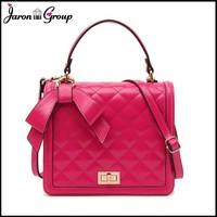 2014 Hot Sale Bow Women Shoulder Bag Handbags Totes Messenger Genuine Leather Bag Fashion Women Handbag with Bow FREE SHIPPING