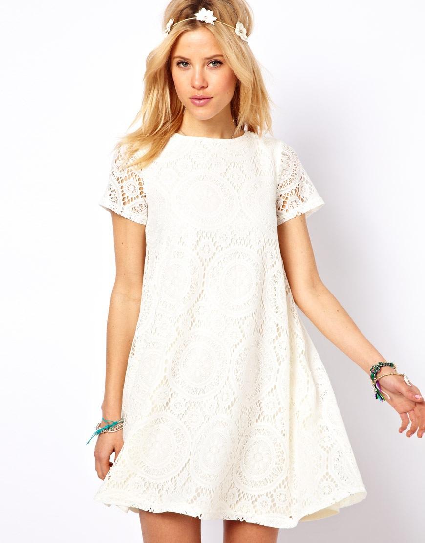 White Cotton Summer Dresses