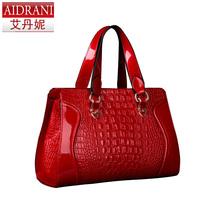 2014 women's bags cowhide  portable bag messenger bag female vintage bag