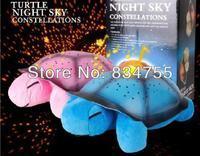 Turtle LED Night Light Music Lights Mini Projector 4 Colors 4 Songs Star Lamp Xmas Gift Children Toys Educational Tortoise
