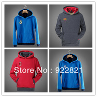 New arrival! Free shipping football fan hoodies/sweatshirts with big european clubs' team logo. Football fan souvenirs and gifts