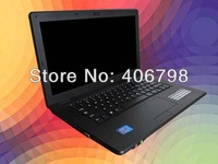 14.1 inch laptop notebook computer,intel Celeron 1037U Dual Core 1.8Ghz,2GB RAM &320GB HDD WIFI, Webcam, Windows 7