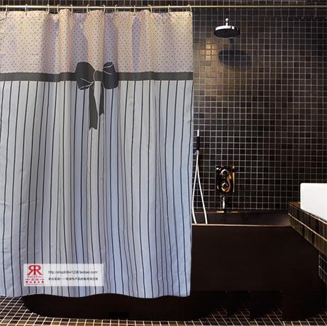 Sedas e cetins de qualidade à prova d'água macia e eco -friendly terylene forma suave chuveiro espessamento cortina(China (Mainland))