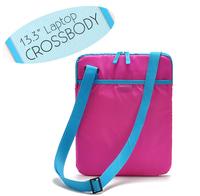 2014 hot-selling candy color Soft  file bag small laptop shoulder messenger bag laptop sleeve for 13.3 inch computer