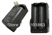 Dual Battery Charger for 18650 Rechargeable Lithium Ion Li-Ion 3.6V 3.7V Battery DHL Free / Drop Shipping