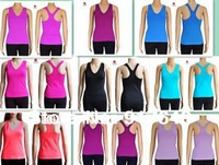 Hot Selling Queen yoga tanks the same quality style with Lululemon  yoga tanks/tops Camisoles  FREE SHIPPING wholesale price