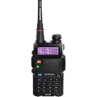 Original BaoFeng UV5R  2 Way Radio 136-174/400-520MHz Dual-Band DTMF Walkie Talkie Handheld Tranceiver with free earpiece