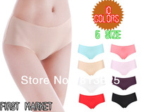 5pcs/lot Ultra-thin intimates seamless briefs hipster erotic the underwear of the women S M L XL 4XL panties underpants lingerie