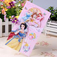 Cheap 160pcs/set Cheap CHINA SHIPPING  Dimensional cartoon holiday cards / Flash Powder Snow White birthday greeting card HK-S31