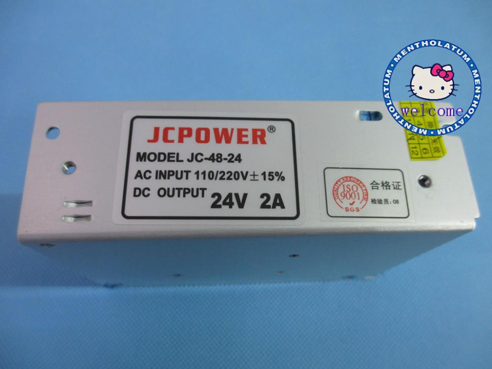 AC110/240V to DC24V 2A Switch Power Supply Transformer(China (Mainland))