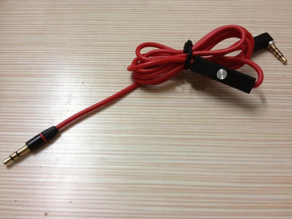5mm micrófono cable de audio para auriculares latidos estudio/en