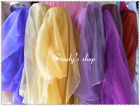 2014 Crystal glass yarn sheer decoration veil usuginu yarn fabric  high quality