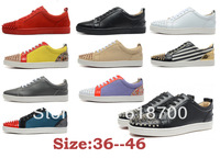 Free shipping 2014 newest CL lovers shoes, sneakers for women men 100% real genuine leather Top quality shoes casual flats