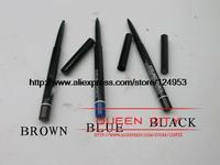 eyelinereyemakeup cosmetics makeup wholesale  black brown blue 6pcs/lot