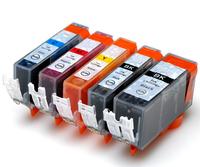 5 x INK PGI-525 Bk CLI-526 Cartridge CHIP For Canon Pixma MG5150/MG5250/MG5350/MG6150/MG6250/MG8150/MG8250/MX715/MX885/MX895