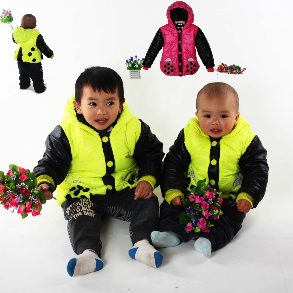 Children baby Outerwear cute Beetles Baby Clothing kids baby boys and girls Jackets Coats Hoodies New 2014 Spring Autumn 6061(China (Mainland))
