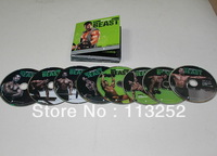 FREE SHIPPING BY DHL 30pcs/lot fitness Body Beast 8DVD boxed wholesale dropshipping