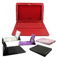 DHL Free Shipping 10pcs/lot Bluetooth Wireless Keyboard Case Cover for Samsung Galaxy Tab 2 10.1 P5100 P5110 P5113 P7500 P7510