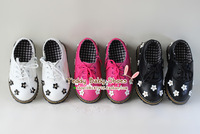 2014 spring baby children shoes leather three-dimensional flower super soft single shoes spring girls shoes