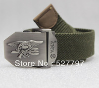 Military tactical  US Navy Seal training belt Canvas casual jeans Cycling Camping Hiking Waistband