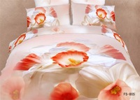 3D Olympic gold wedding cotton denim cotton bedding cotton bed linen quilt bedding personality