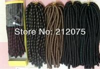 Fashion Synthetic Hair Extensions Bulk long hair Braid  Multicolor hair 4sets/lot Free Shipping