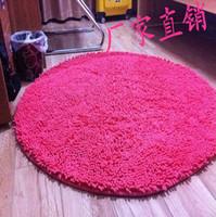 Chenille carpet microfiber chenille circle carpet thickening chenille carpet computer cushion