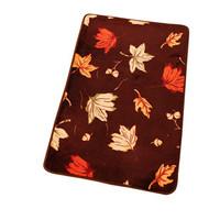 Coral fleece carpet coffee table piaochuang doormat mats