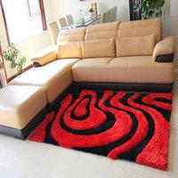 Super soft 300d filagreed 3d stereo quality fashion carpet