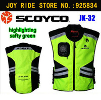 Scoyco Jacket Motorcycle Suzuki Hayabusa Jackets For Motorbike Reflecting Racing Protective Accessories JK32