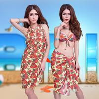 14 fashion plus size dress bikini piece set big steel swimwear push up swimsuit hot springs