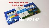 Winsor Newton winsor newton 10ml of water color Windsor 12 colour Paints gouache art supplies