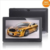 Q88pro A23 Dual core tablet pc android 4.2.2 1.5GHz RAM DDR3 512MB ROM 4GB Camera WiFi OTG Freeshipping with screen protector