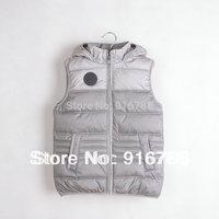 Boys brand high quality vest hooded thicken children's vest outdoor sports a waistcoat 4-10T coletes infantis jaquetas infantis
