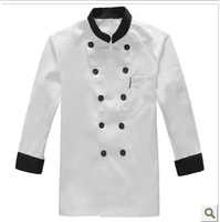 Autumn and winter clothing cook long-sleeve work wear autumn and winter work wear work clothes