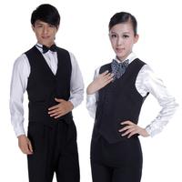 Hotel uniforms vest black vest