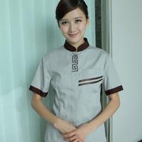 J pa uniforms summer work wear cleaning service front desk female
